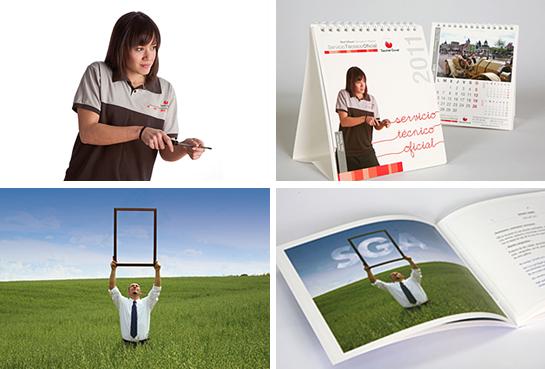 Fotografías y su aplicación en producto impreso